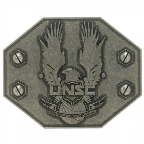 Halo 4 UNSC Antique Metal Belt Buckle