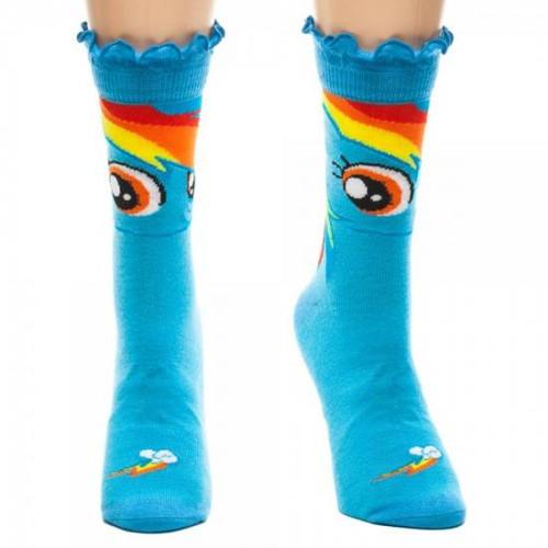 My Little Pony Novelties Rainbow Dash Crew Socks