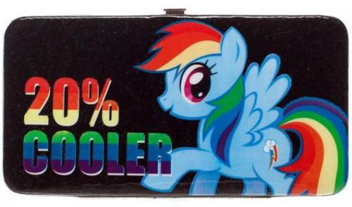 My Little Pony Novelties Rainbow Dash 20% Cooler Juniors Hinge Wallet