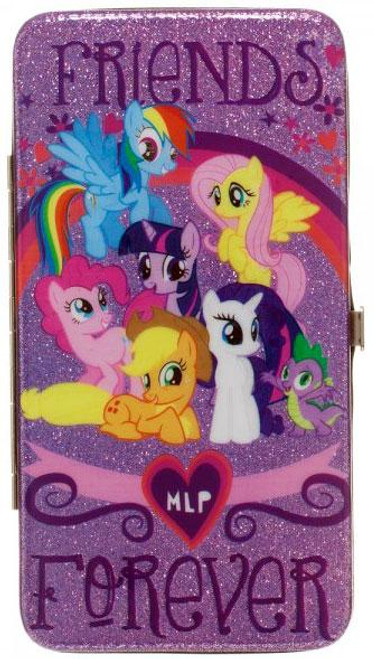 My Little Pony Novelties Mane 6 Friends Forever Hinge Wallet