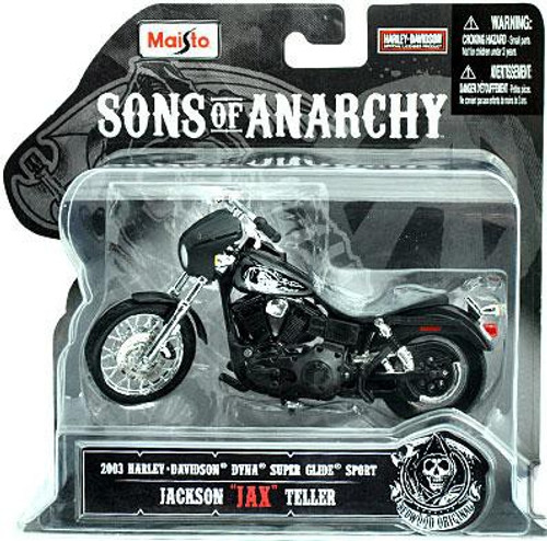 "Sons of Anarchy Jackson ""Jax"" Teller Diecast Replica Bike"