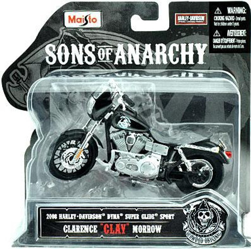 "Sons of Anarchy Clarence ""Clay"" Morrow Diecast Replica Bike"