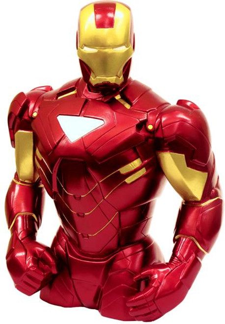 Marvel Iron Man 7.5-Inch Bust Bank