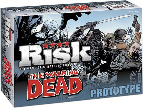 Comic Games The Walking Dead Survival Edition Risk Exclusive Board Game