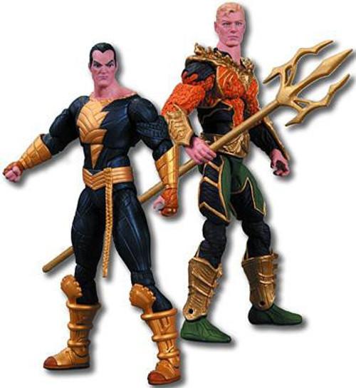 DC Injustice: Gods Among Us Aquaman & Black Adam Action Figure 2-Pack