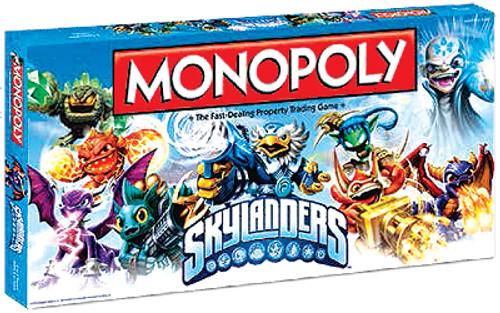 Skylanders Monopoly Board Game