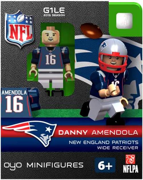 New England Patriots NFL Generation 1 2013 Season Danny Amendola Minifigure