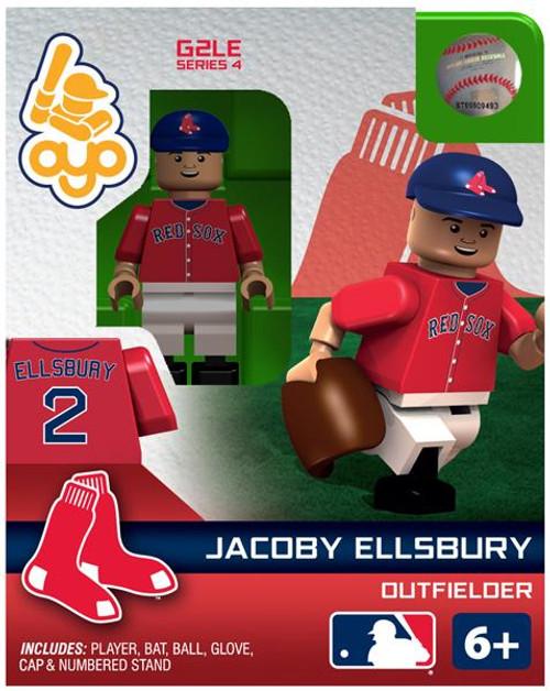 Boston Red Sox MLB Generation 2 Series 4 Jacoby Ellsbury Minifigure