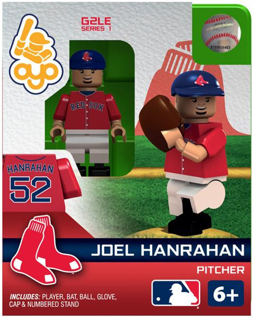 Boston Red Sox MLB Generation 2 Series 1 Joel Hanrahan Minifigure