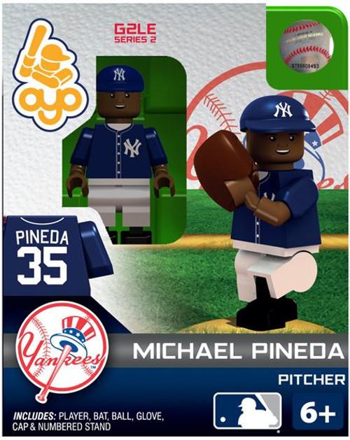 New York Yankees MLB Generation 2 Series 2 Michael Pineda Minifigure