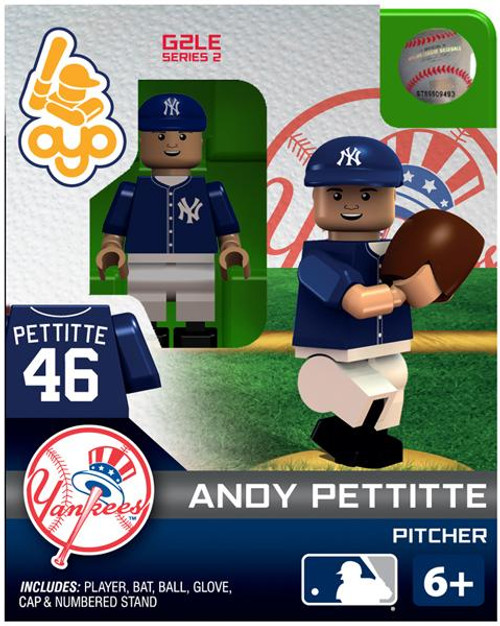 New York Yankees MLB Generation 2 Series 2 Andy Pettitte Minifigure