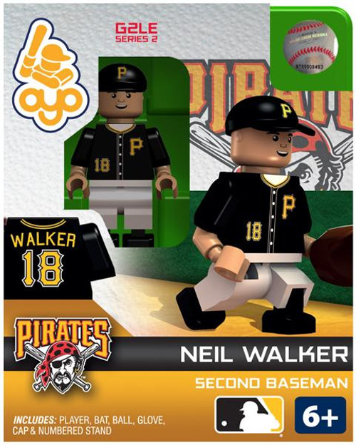 Pittsburgh Pirates MLB Generation 2 Series 2 Neil Walker Minifigure