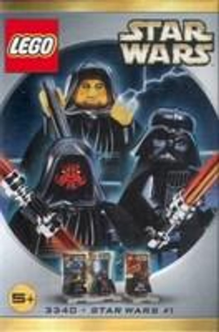 LEGO Star Wars #1 Minifigures Set #3340 [New]