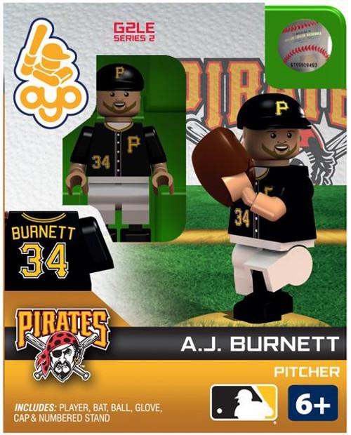Pittsburgh Pirates MLB Generation 2 Series 2 A.J. Burnett Minifigure