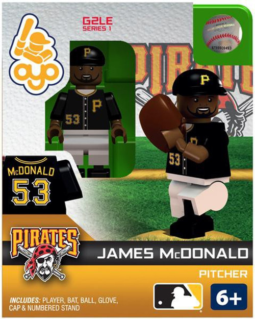 Pittsburgh Pirates MLB Generation 2 Series 1 James McDonald Minifigure
