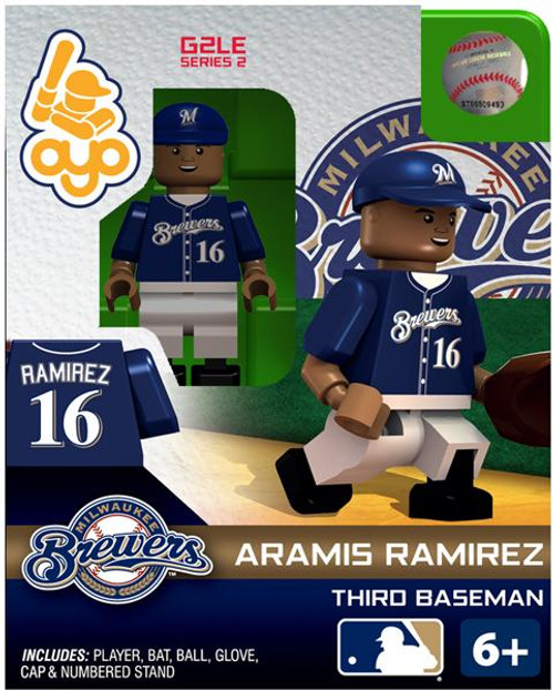 Milwaukee Brewers MLB Generation 2 Series 2 Aramis Ramirez Minifigure