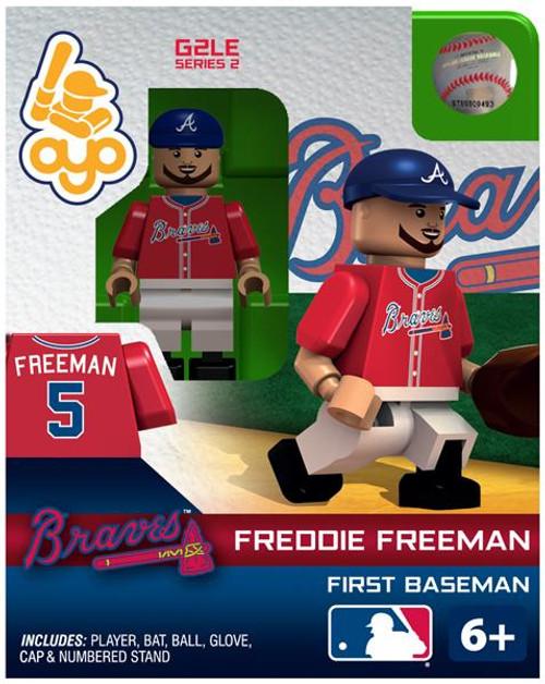 Atlanta Braves MLB Generation 2 Series 2 Freddie Freeman Minifigure