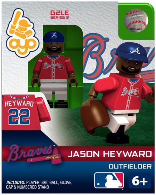 Atlanta Braves MLB Generation 2 Series 2 Jason Heyward Minifigure