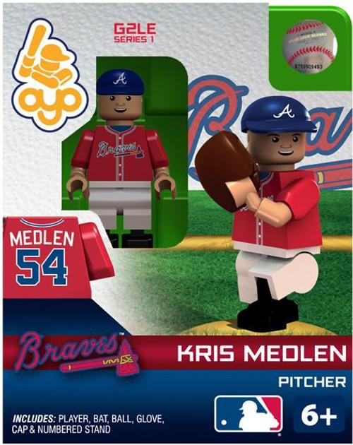 Atlanta Braves MLB Generation 2 Series 1 Kris Medlen Minifigure