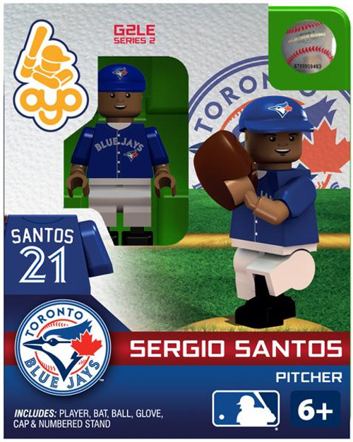 Toronto Blue Jays MLB Generation 2 Series 2 Sergio Santos Minifigure