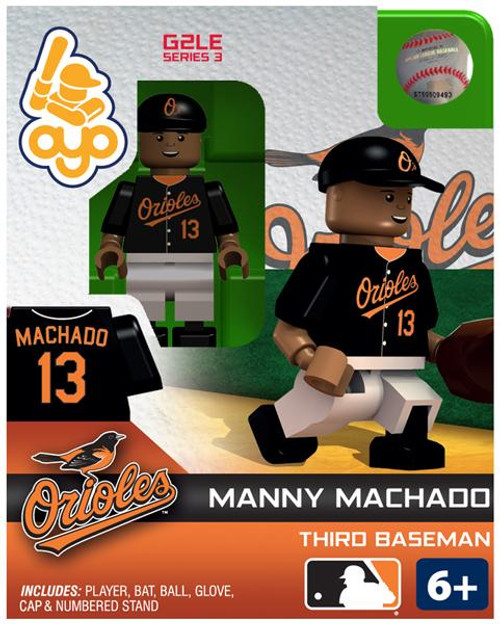 Baltimore Orioles MLB Generation 2 Series 3 Manny Machado Minifigure