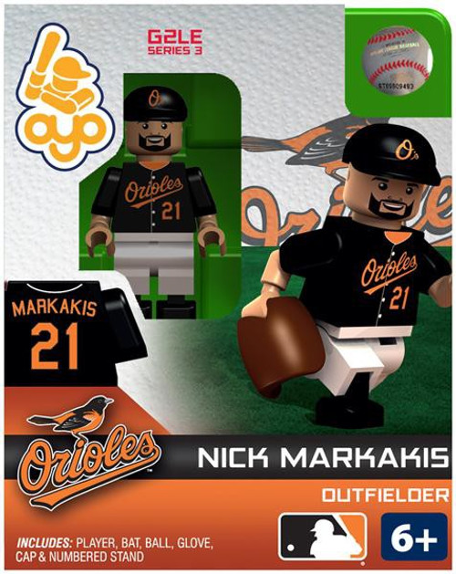 Baltimore Orioles MLB Generation 2 Series 3 Nick Markakis Minifigure