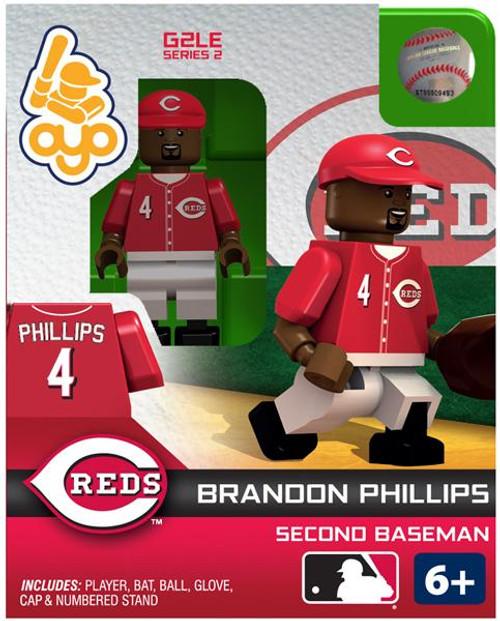 Cincinnati Reds MLB Generation 2 Series 2 Brandon Phillips Minifigure