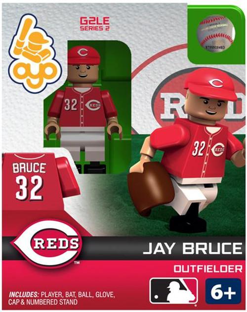 Cincinnati Reds MLB Generation 2 Series 2 Jay Bruce Minifigure