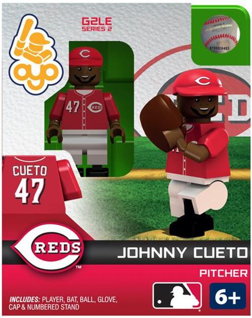 Cincinnati Reds MLB Generation 2 Series 2 Johnny Cueto Minifigure
