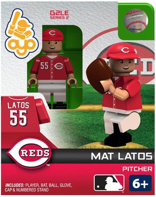 Cincinnati Reds MLB Generation 2 Series 2 Mat Latos Minifigure