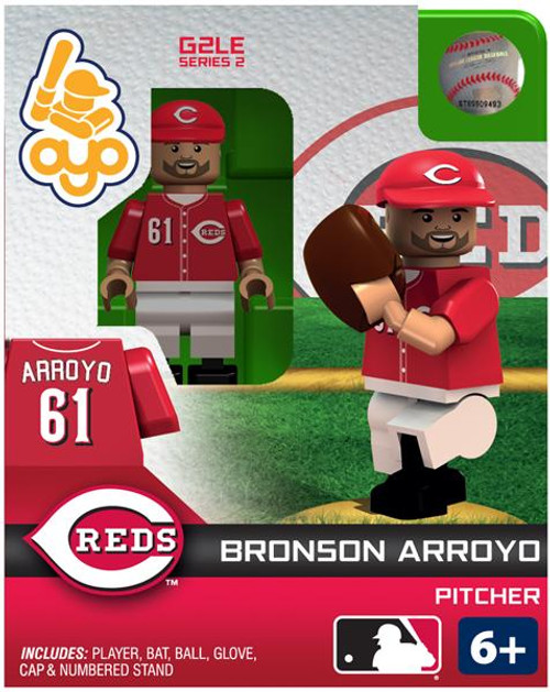 Cincinnati Reds MLB Generation 2 Series 2 Bronson Arroyo Minifigure