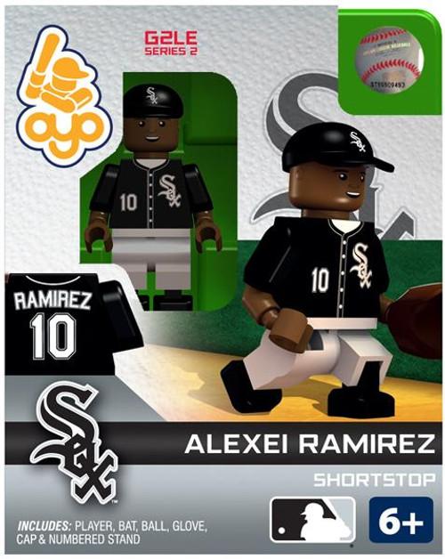 Chicago White Sox MLB Generation 2 Series 2 Alexei Ramirez Minifigure
