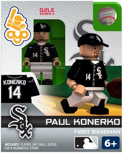 Chicago White Sox MLB Generation 2 Series 4 Paul Konerko Minifigure