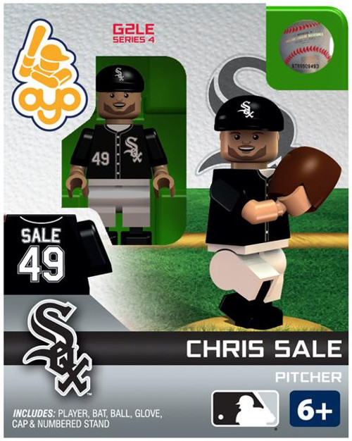 Chicago White Sox MLB Generation 2 Series 4 Chris Sale Minifigure
