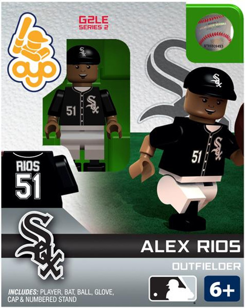 Chicago White Sox MLB Generation 2 Series 2 Alex Rios Minifigure