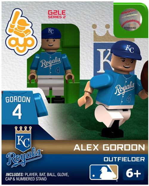 Kansas City Royals MLB Generation 2 Series 2 Alex Gordon Minifigure
