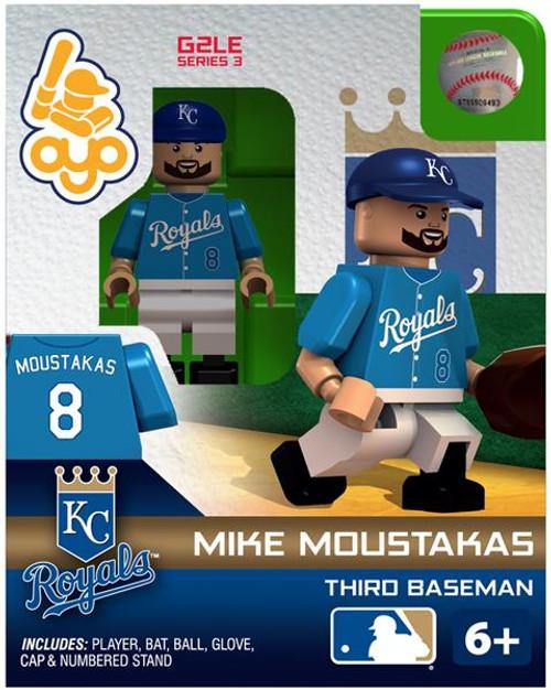 Kansas City Royals MLB Generation 2 Series 3 Mike Moustakas Minifigure