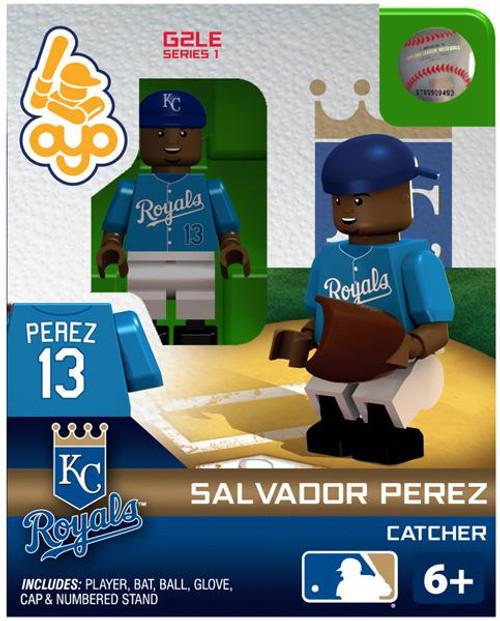 Kansas City Royals MLB Generation 2 Series 1 Salvador Perez Minifigure