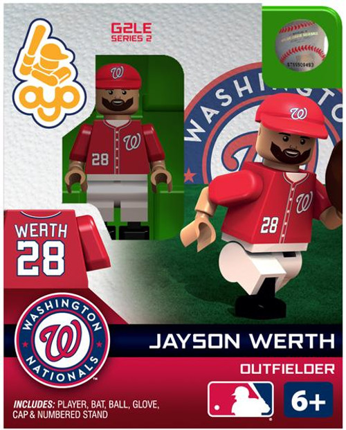Washington Nationals MLB Generation 2 Series 2 Jayson Werth Minifigure