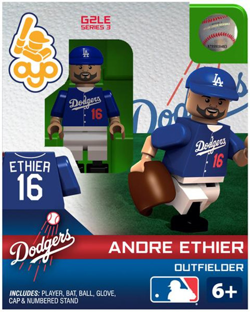 Los Angeles Dodgers MLB Generation 2 Series 3 Andre Ethier Minifigure