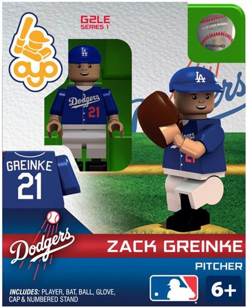 Los Angeles Dodgers MLB Generation 2 Series 1 Zack Greinke Minifigure