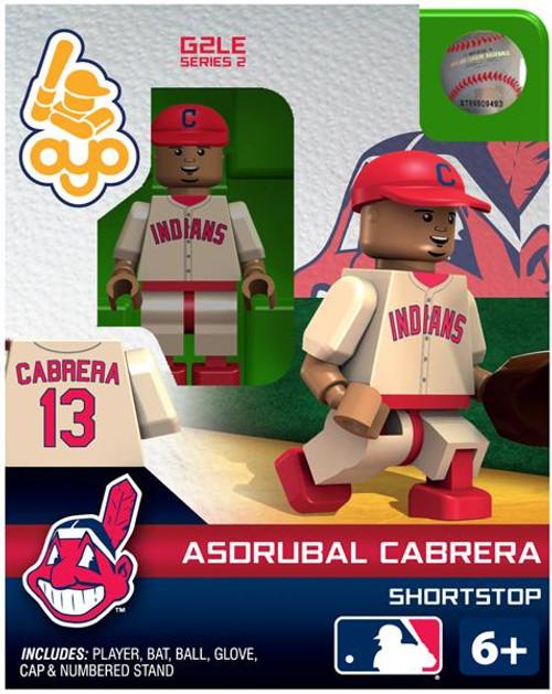 Cleveland Indians MLB Generation 2 Series 2 Asdrubal Cabrera Minifigure
