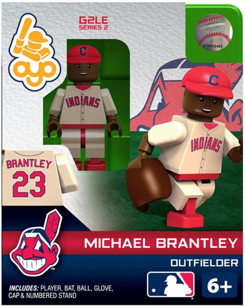 Cleveland Indians MLB Generation 2 Series 2 Michael Brantley Minifigure