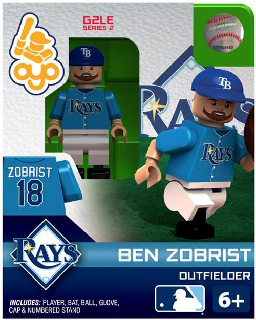 Tampa Bay Rays MLB Generation 2 Series 2 Ben Zobrist Minifigure