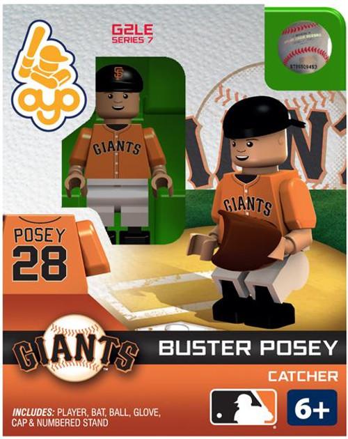 San Francisco Giants MLB Generation 2 Series 7 Buster Posey Minifigure