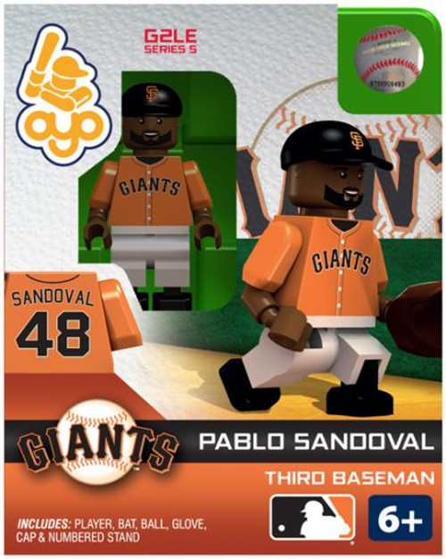 San Francisco Giants MLB Generation 2 Series 5 Pablo Sandoval Minifigure