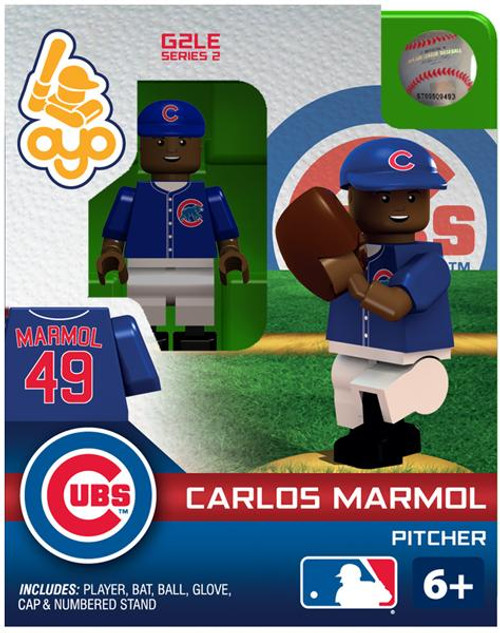 Chicago Cubs MLB Generation 2 Series 2 Carlos Marmol Minifigure
