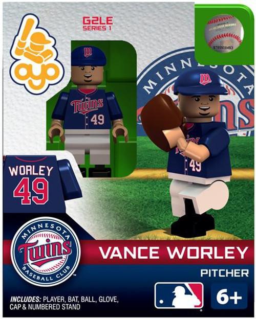 Minnesota Twins MLB Generation 2 Series 1 Vance Worley Minifigure