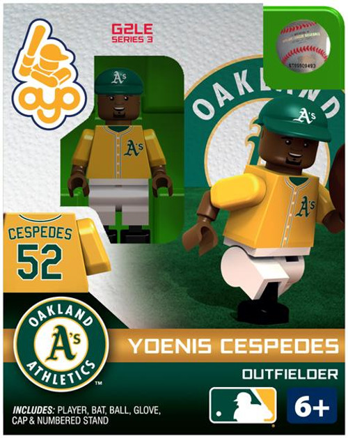Oakland A's MLB Generation 2 Series 3 Yoenis Cespedes Minifigure