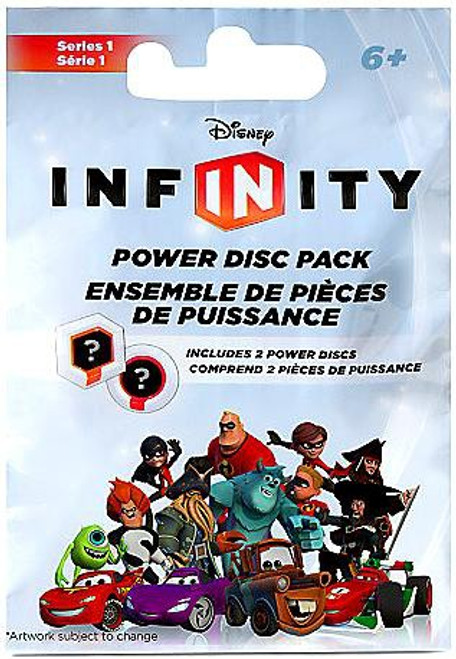 Disney Infinity Series 1 Power Disc Pack [Silver]